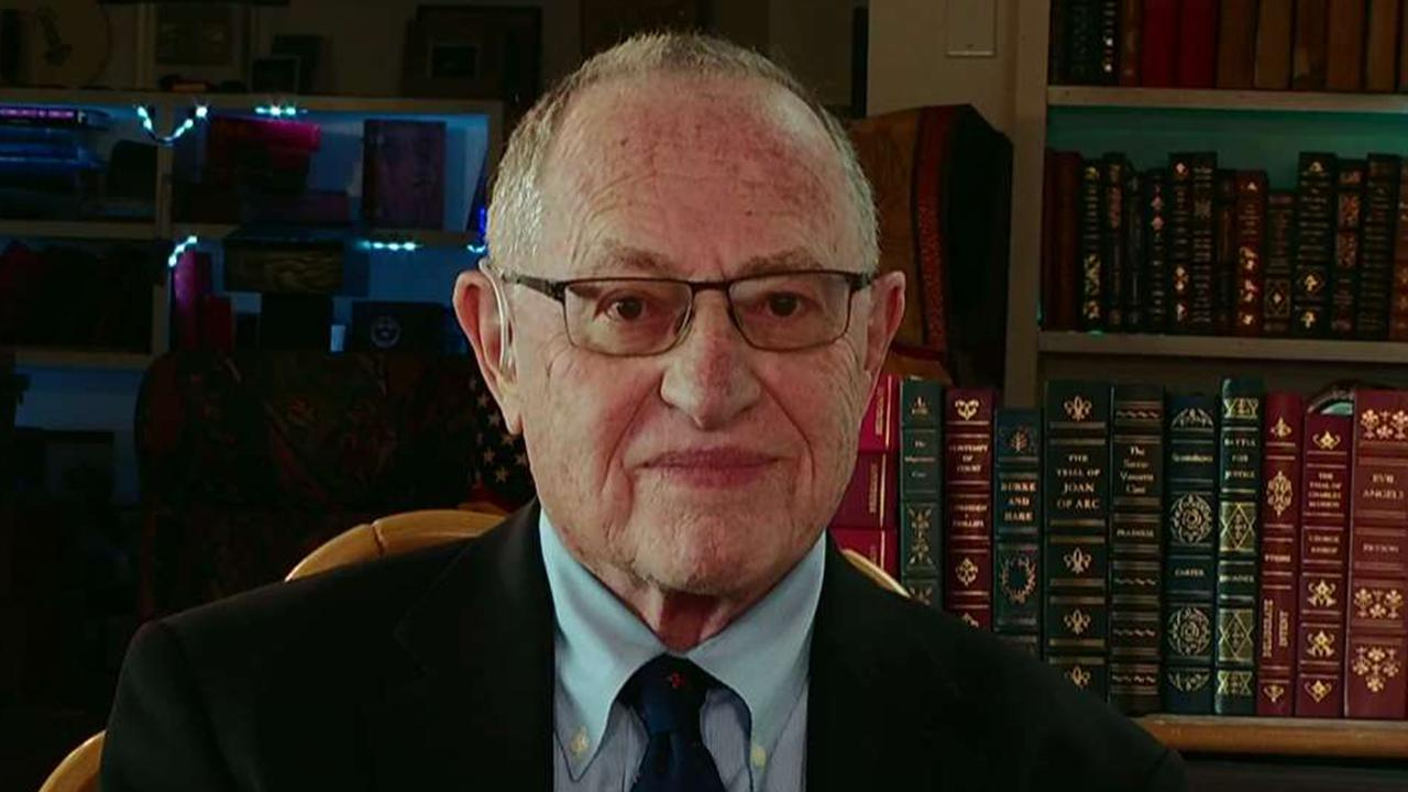 Dershowitz: Dems need to move forward from Kavanaugh loss