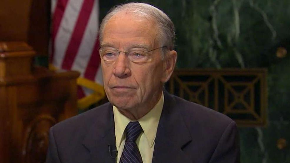 Chairman Grassley: Not wise to impeach Justice Kavanaugh