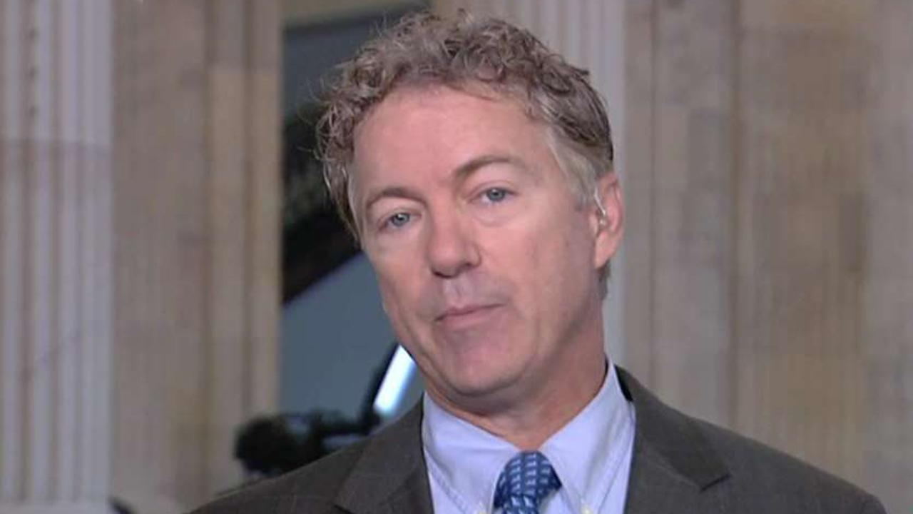 Sen. Paul calls for end to violent rhetoric