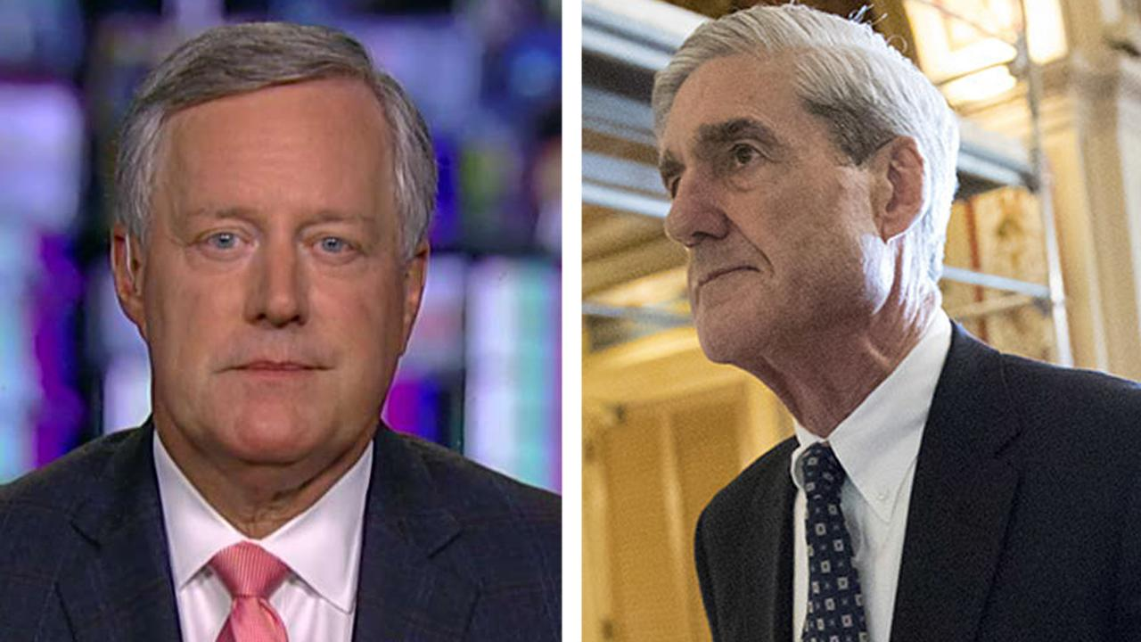 Rep. Mark Meadows: It's time for Mueller to call it quits