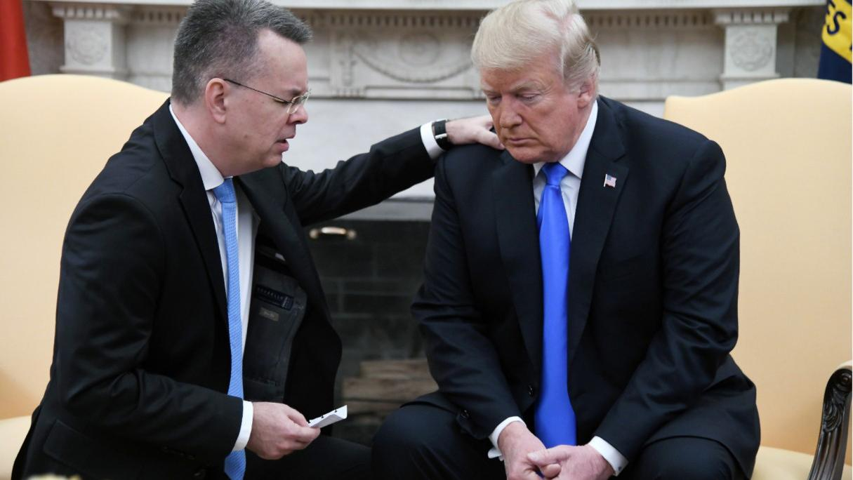 Pastor Brunson freed from Turkish imprisonment