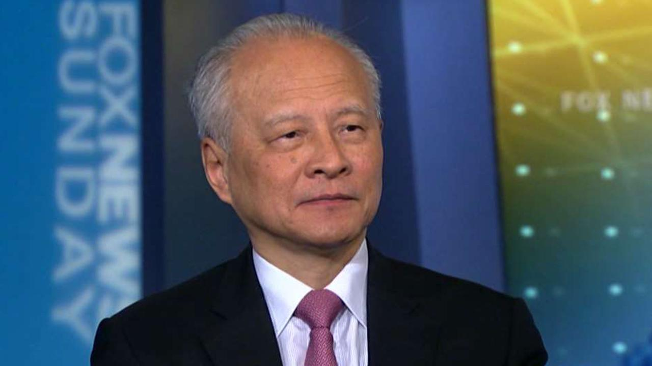 China's ambassador to the US talks trade tensions