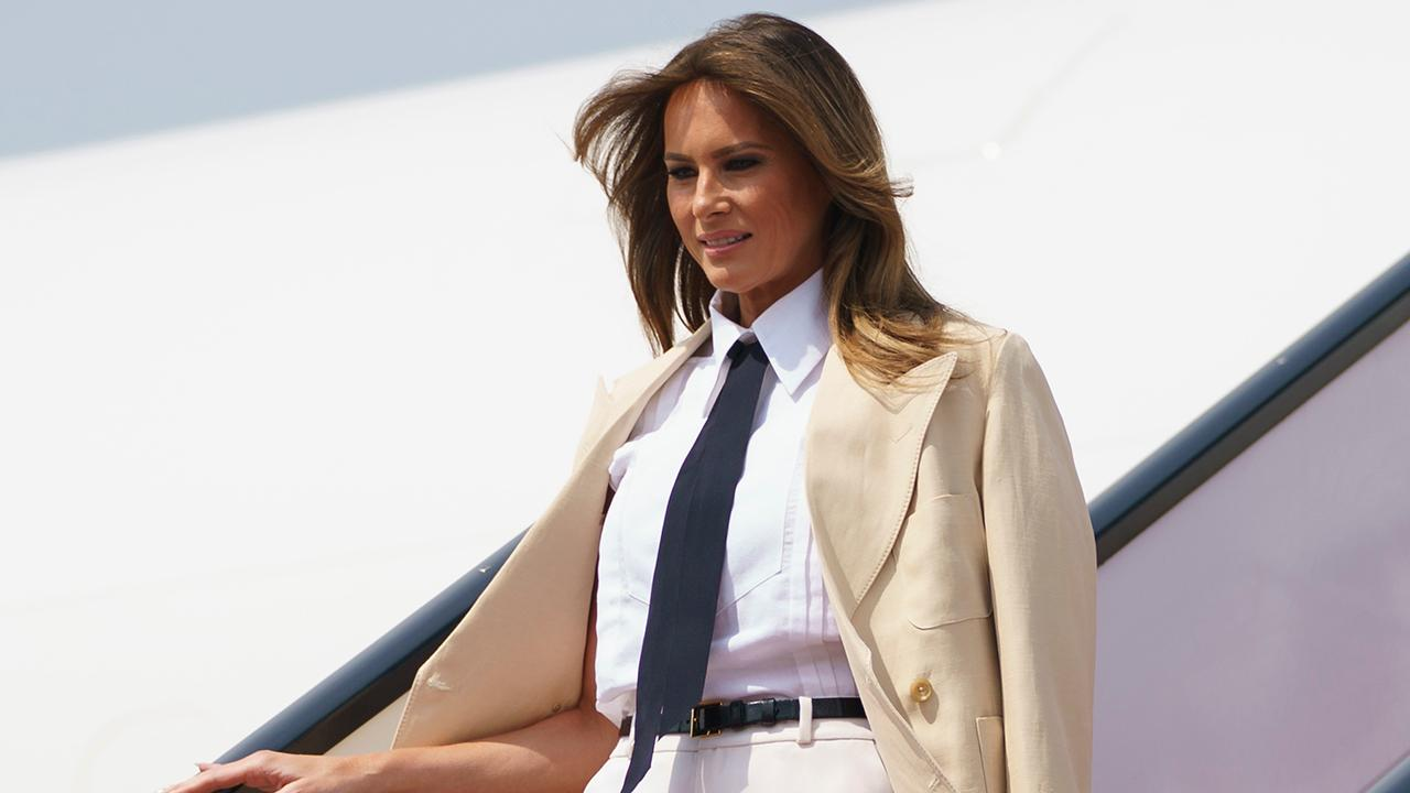 Melania pressed on marriage