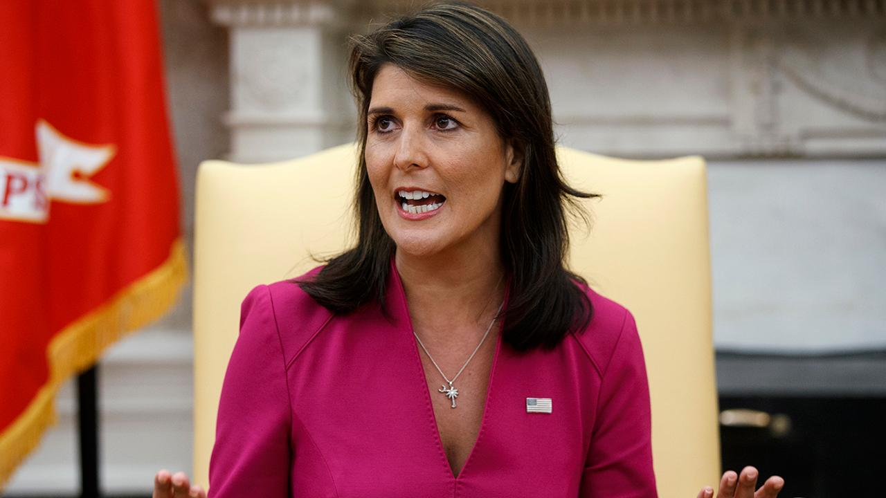 Media's Nikki Haley frenzy
