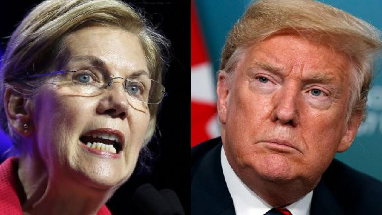 Warren's DNA test mocked by GOP; Trump offers charity donation only 'if I can test her personally'