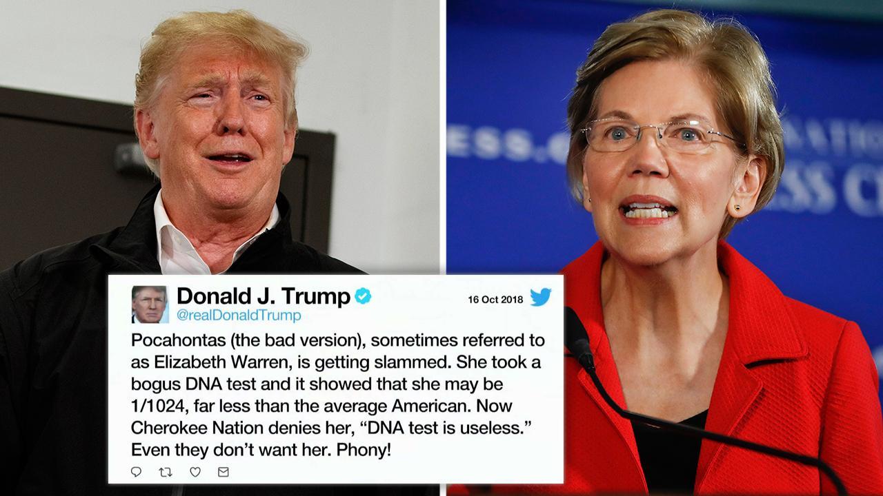 Elizabeth Warren painted victor in Trump tiff by networks, skipping Cherokee Nat...