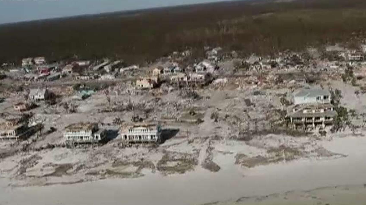 Massive Hurricane Michael cleanup effort begins in Florida