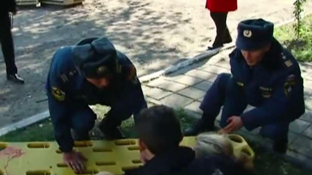 Russian officials identify school shooting suspect in Crimea