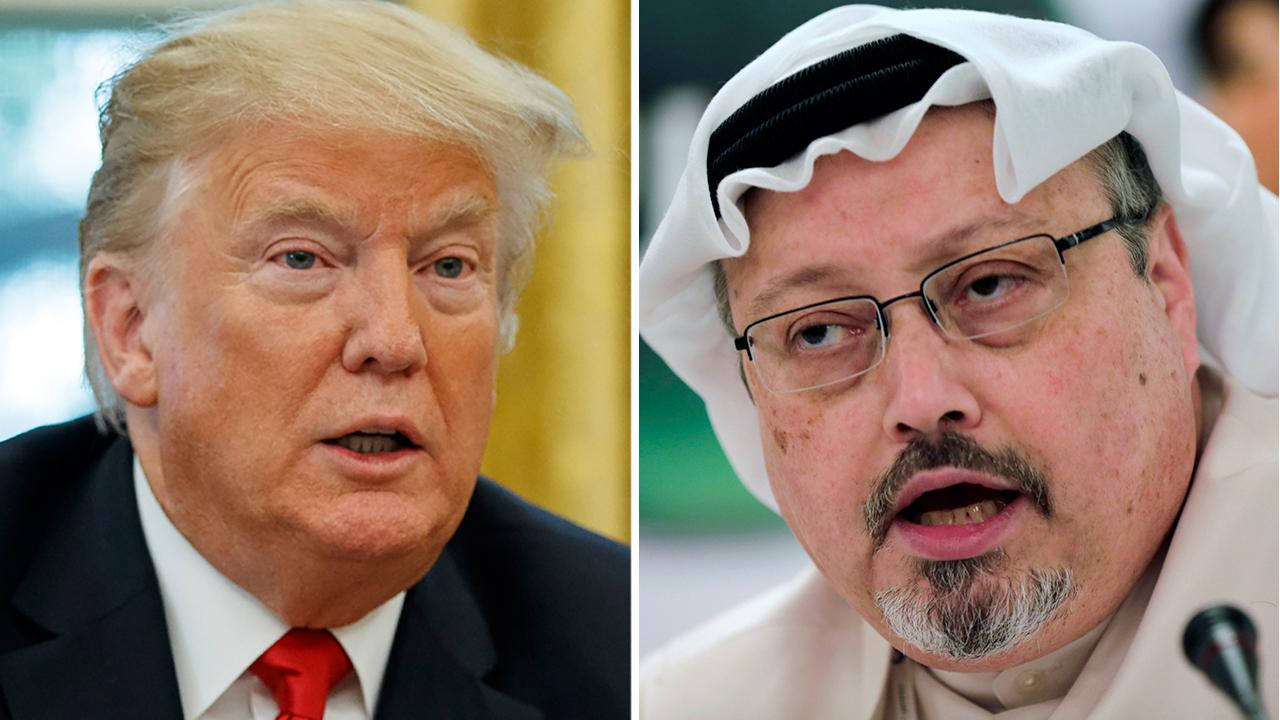 Trump takes wait and see approach to Khashoggi case