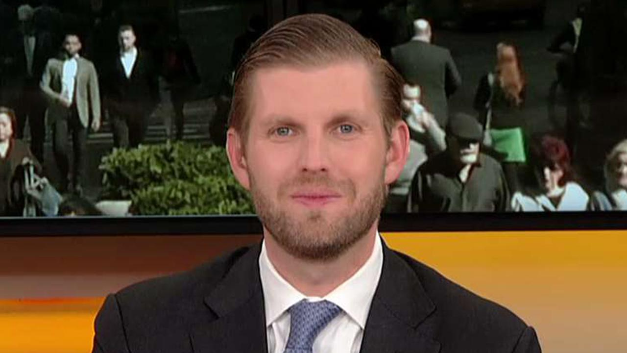 Executive vice president of The Trump Organization addresses questions about the family's financial connections to the Saudi royal family.
