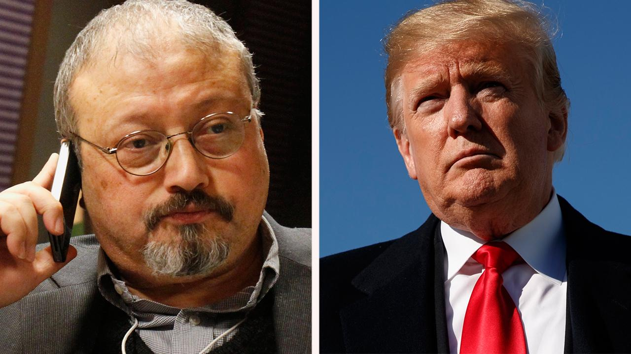Has Trump's response on Khashoggi been enough so far?
