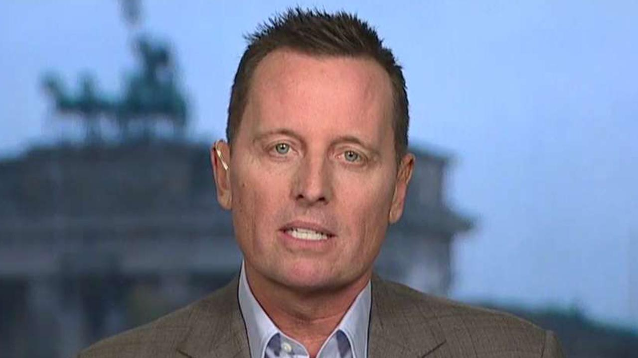 Amb. Grenell reacts to talk he may replace Haley at UN