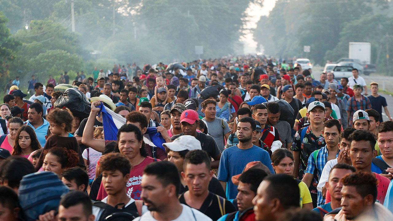 Is the migrant caravan a symptom of failed US policies?
