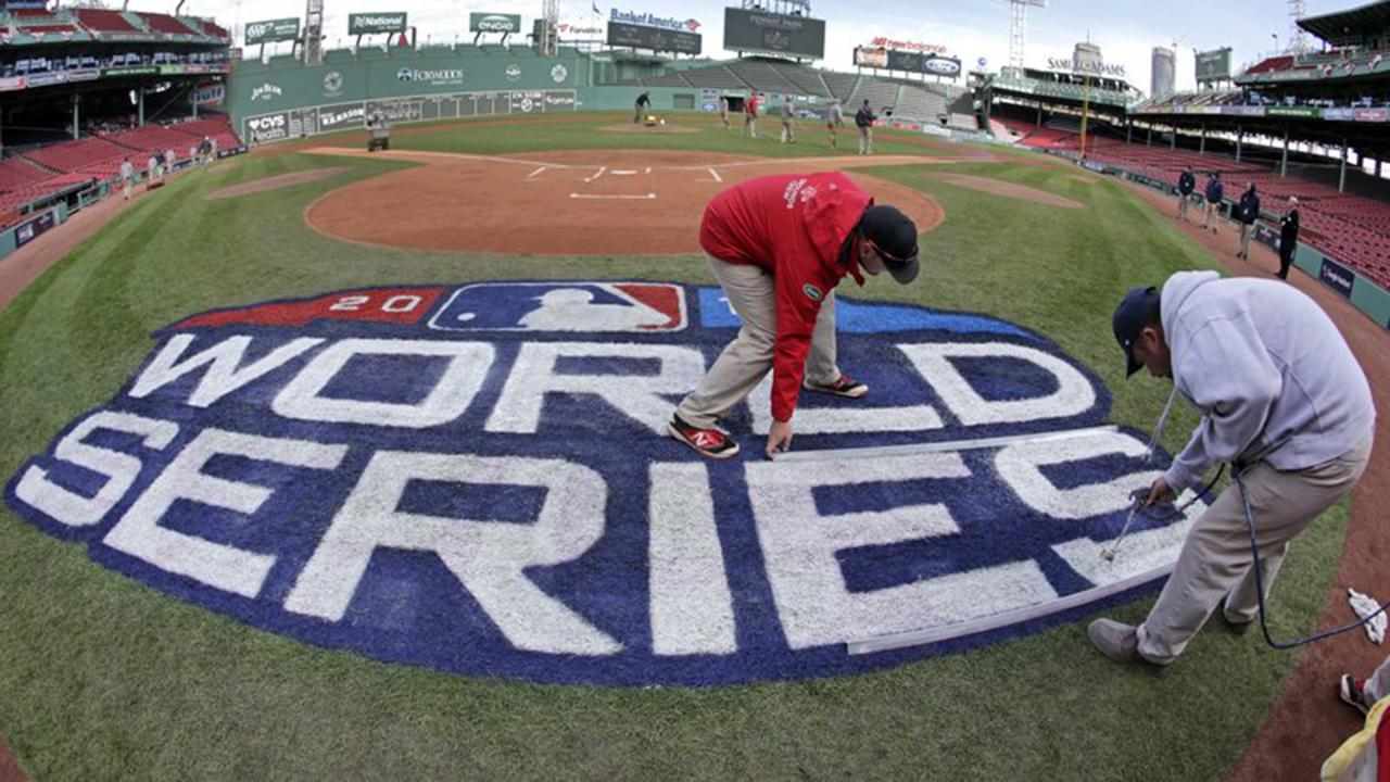 Todd Piro is at Fenway Park ahead of the first game between the Red Sox and the Dodgers.