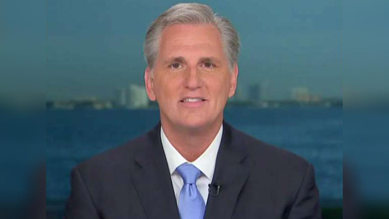 Rep. McCarthy on office being vandalized, migrant caravan