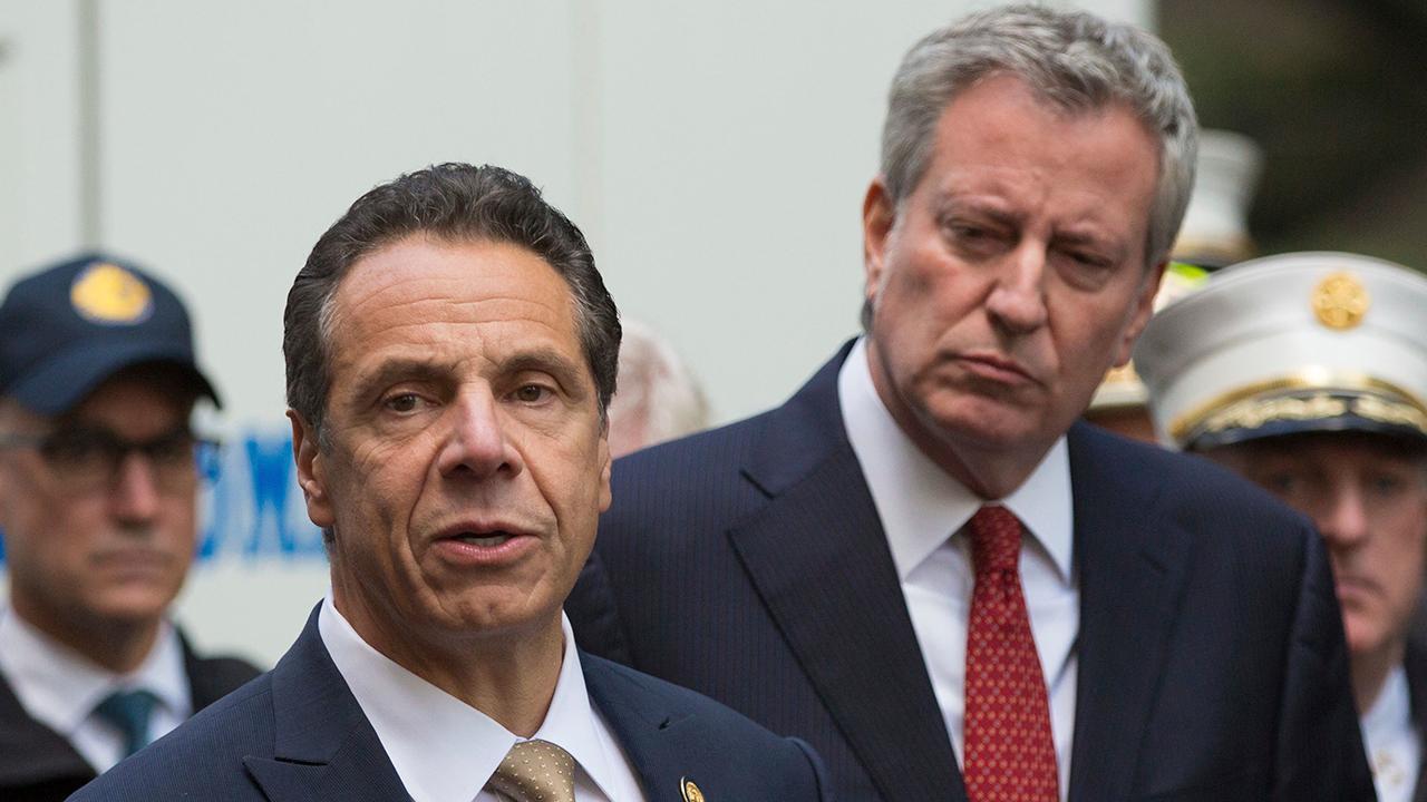 De Blasio, Cuomo condemn suspicious packages sent to NY