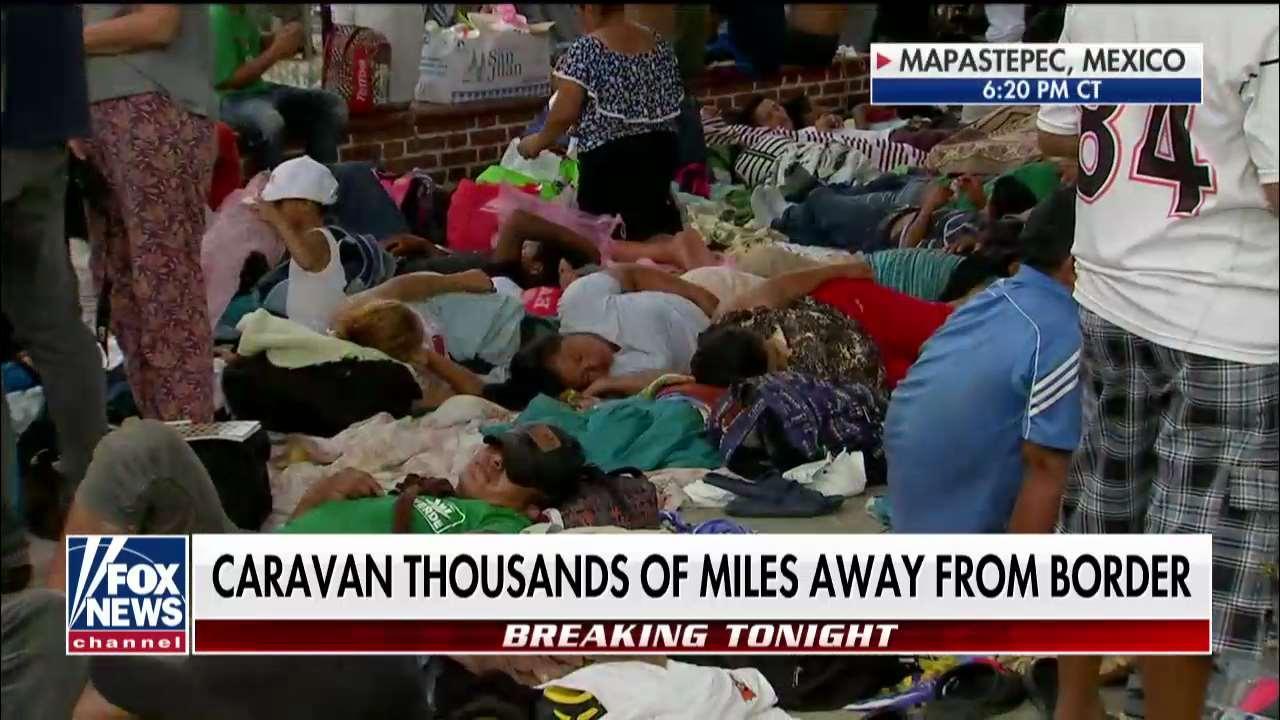 Martha MacCallum Interviews DHS Secretary at Border as Caravan Moves North