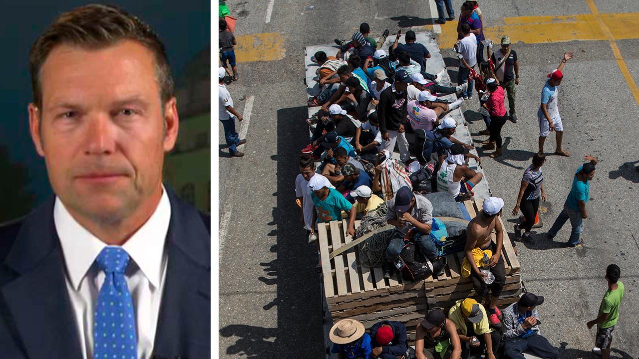 Kris Kobach: Migrants have no basis to claim asylum