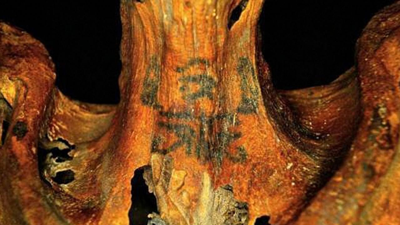 Image result for Mystery of 3,000-year-old Egyptian mummy with 'magical' tattoos solved
