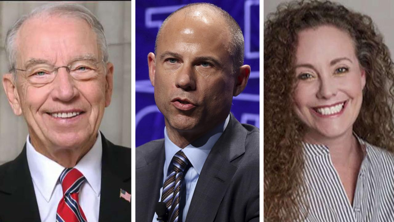 Grassley refers Swetnick, Avenatti for criminal probe