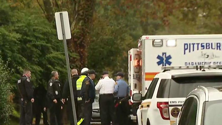Pittsburgh police report active shooter at synagogue