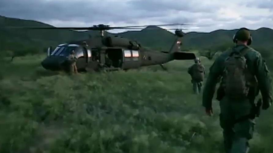 US troops deployed to Mexico border ahead of caravan