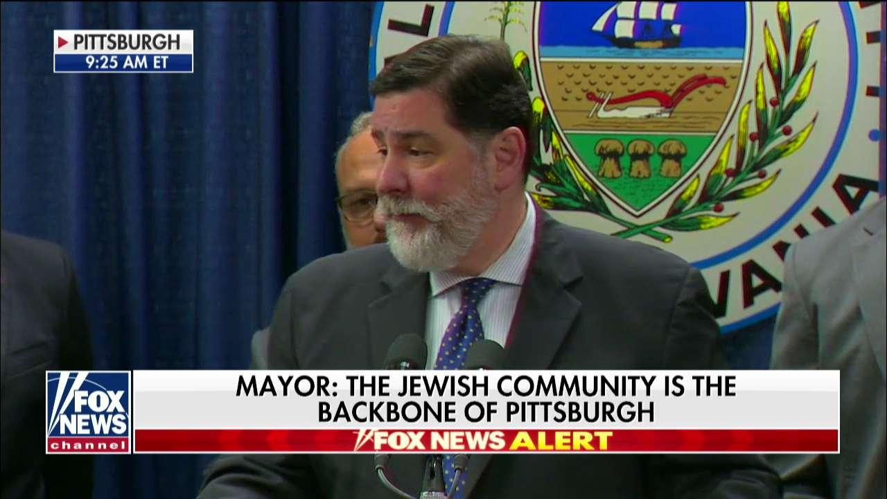 Pittsburgh Mayor Touts City's Resiliency After Synagogue Massacre