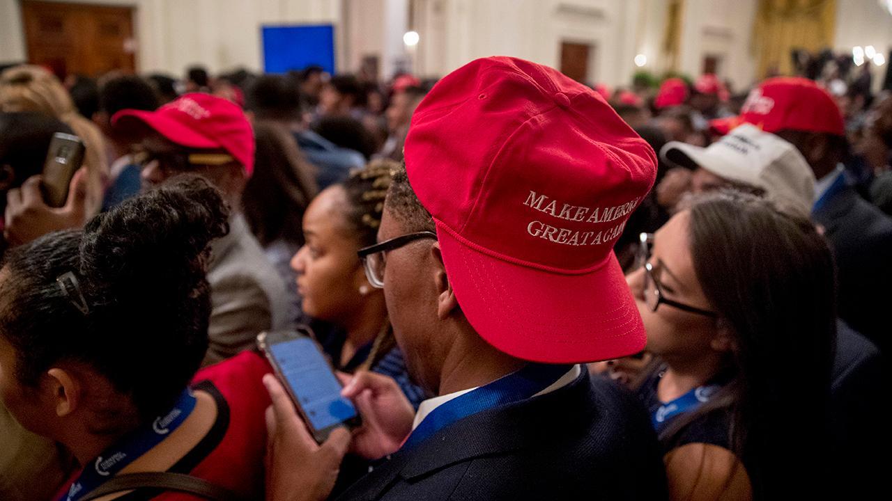 Sharpton slams Trump and black leadership summit