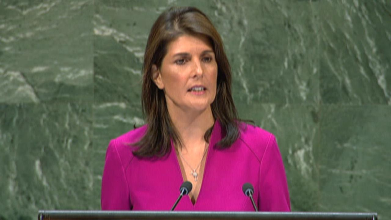 Haley on opposition to US Cuba embargo: We won't back down