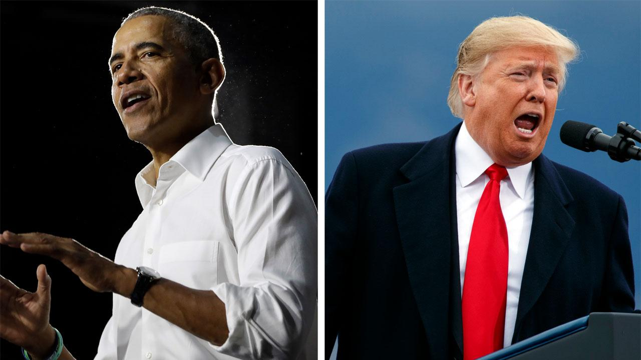 Eric Shawn: Trump vs. Obama, who wins?