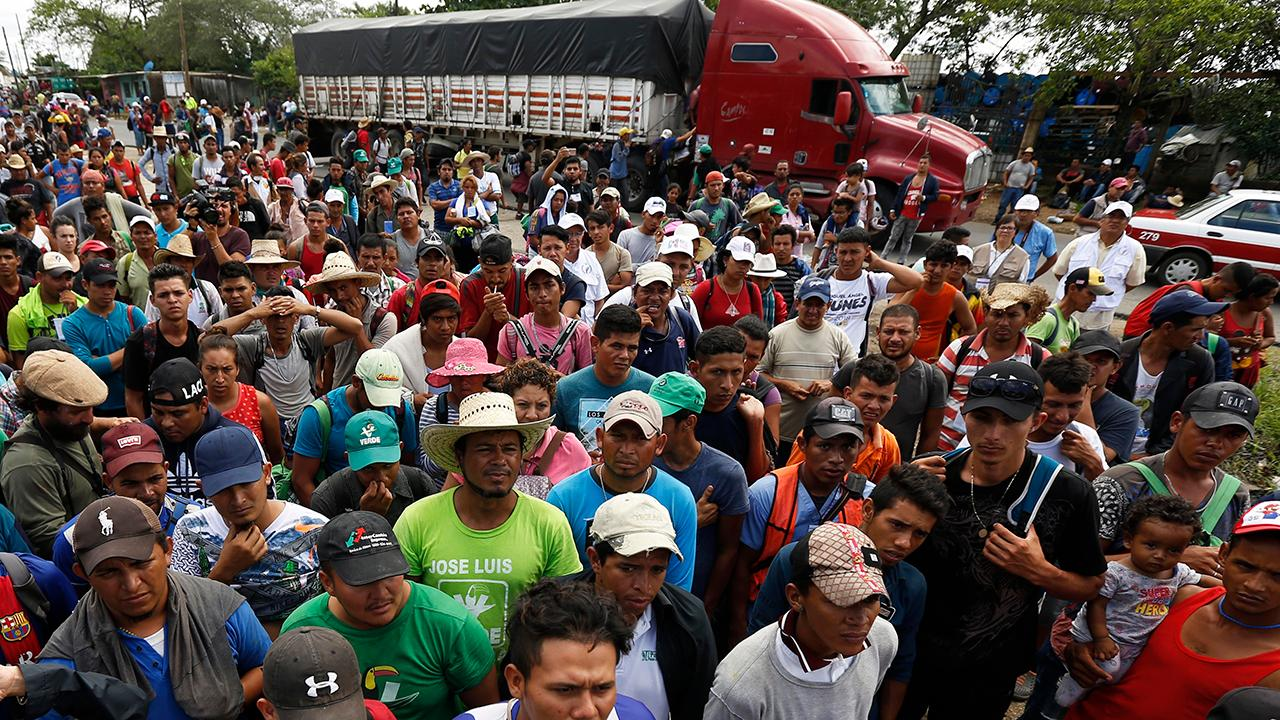 Migrant Caravan Swells to 12,000