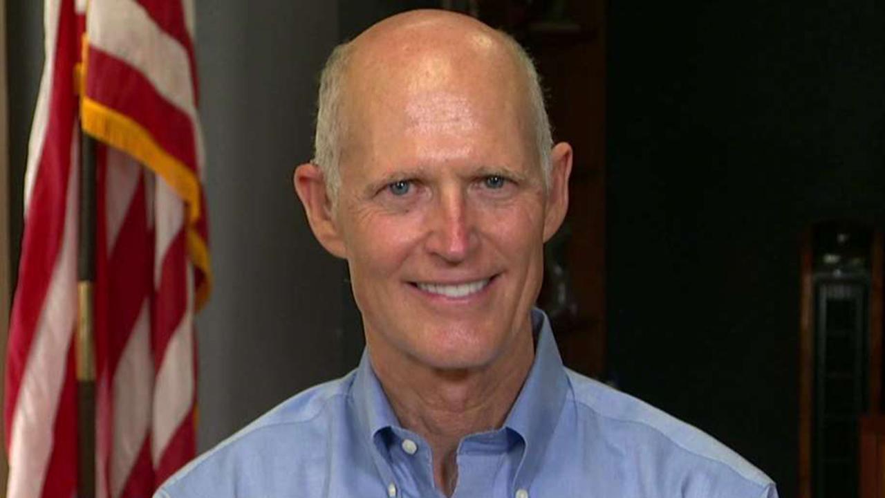 Gov. Scott: Florida Senate election is an easy choice