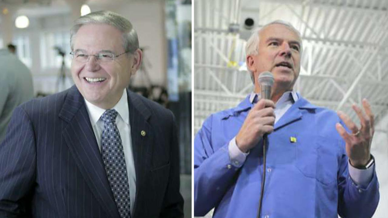 New poll widens Menendez's lead over Hugin in NJ Senate race