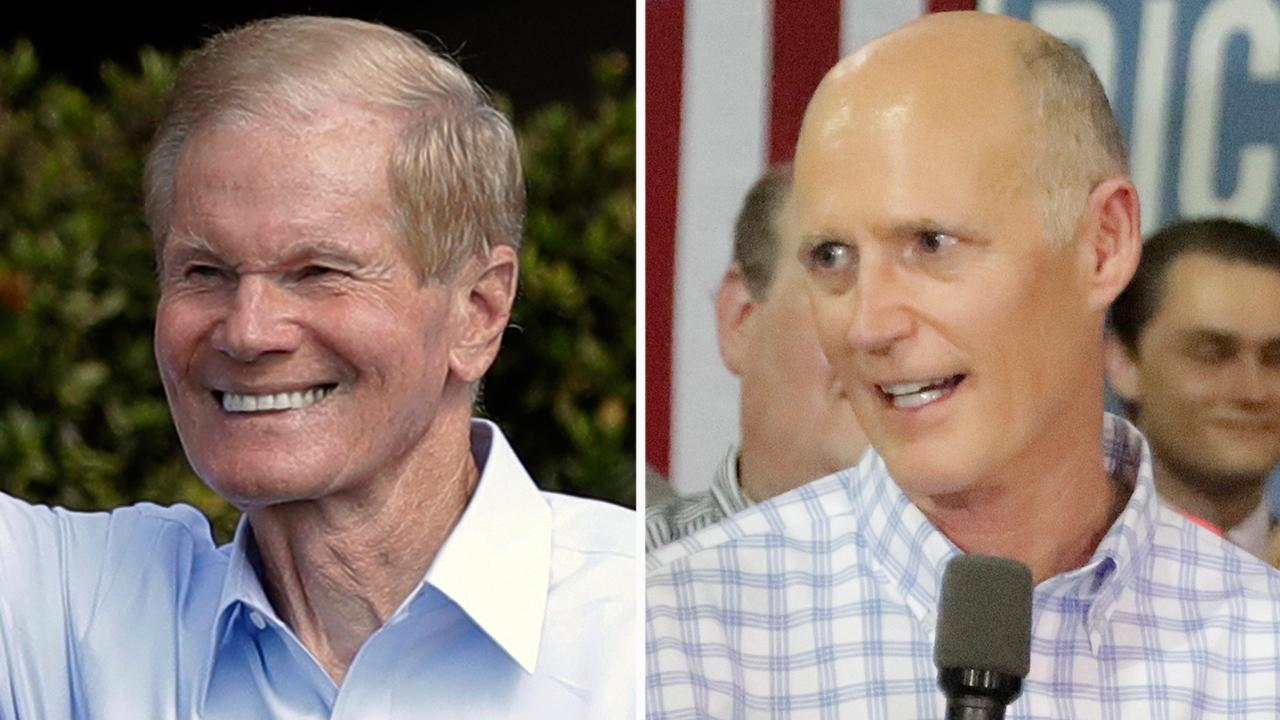 Senate candidates court last-minute voters in Florida