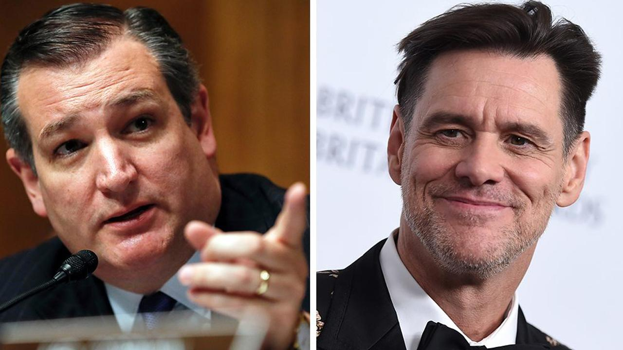 Ted Cruz fires back at Jim Carrey after 'vampire' attack