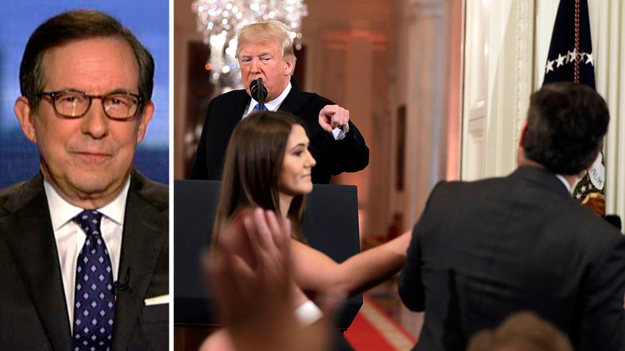 Chris Wallace: Jim Acosta embarrassed himself