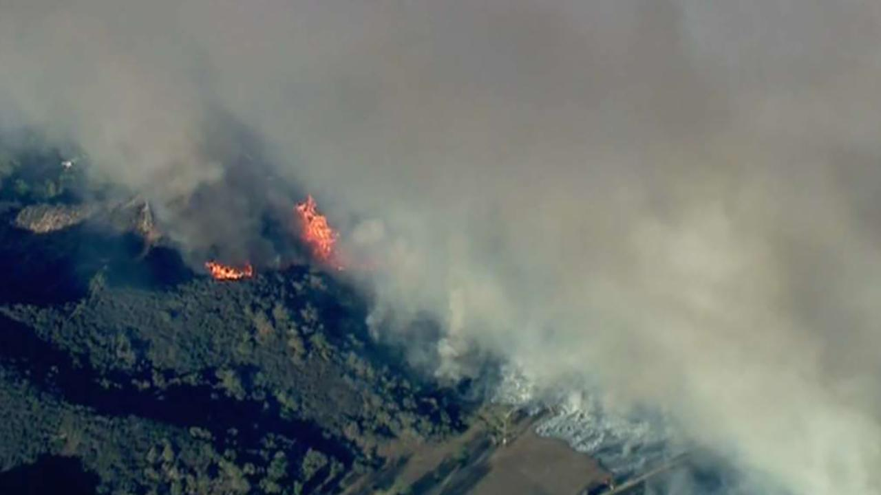 Wildfires near Los Angeles force evacuations