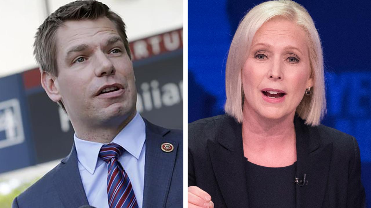 How would Swalwell, Gillibrand stack up against Trump?