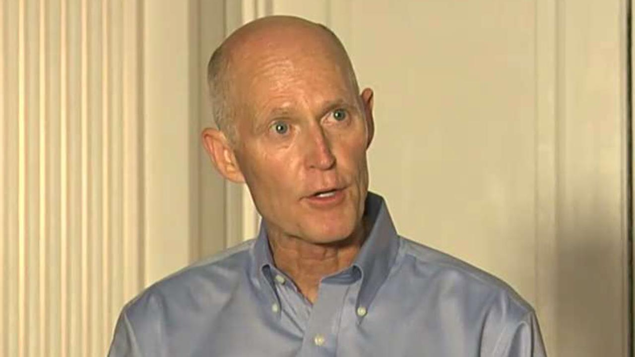 Scott files suit, alleges wrongdoing in Florida Senate race