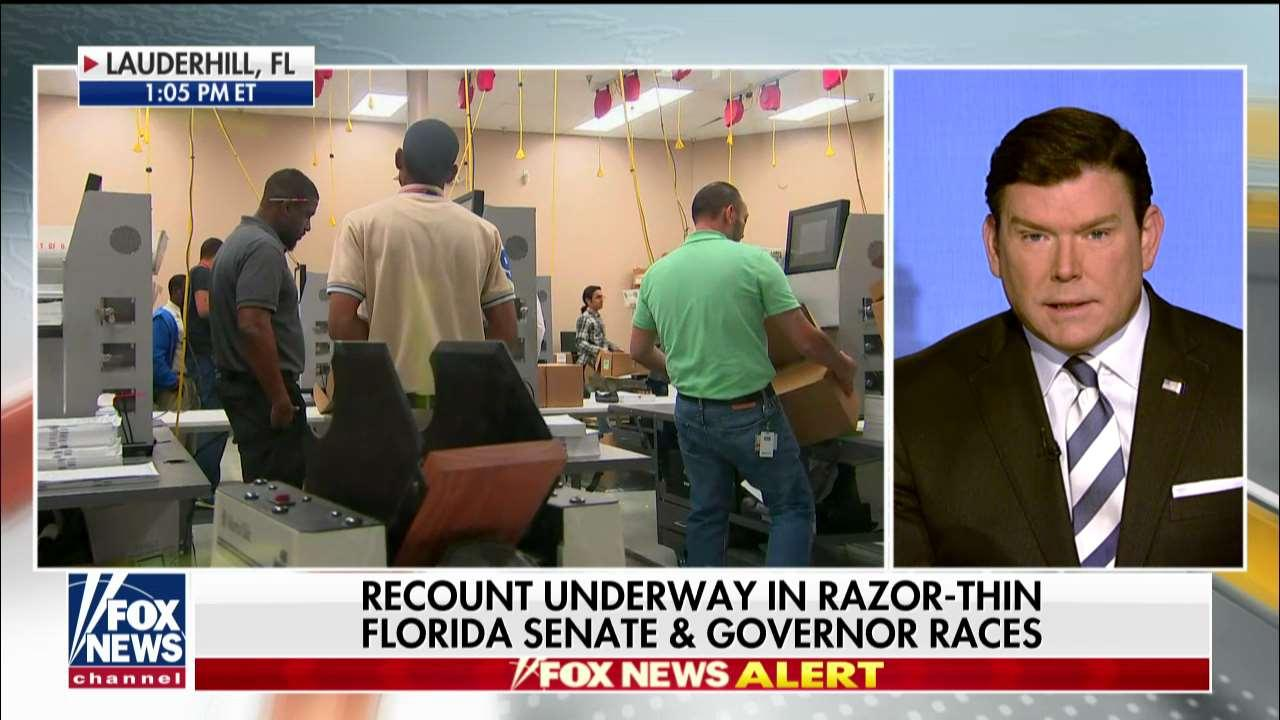 Baier Says Recount Is 'Another Red Flag' for Florida