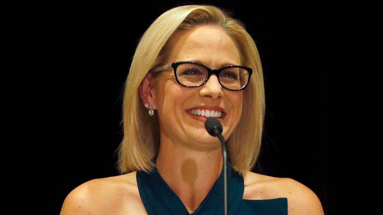 Arizona Dem Sens. Sinema, Kelly back governor's move to deploy National Guard to border - fox