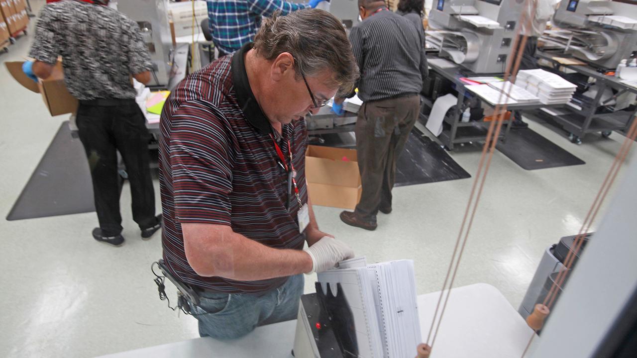 Ballot recount underway in Broward county