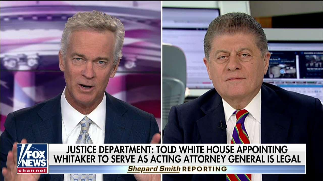 Napolitano Blasts Whitaker Appointment Reasoning