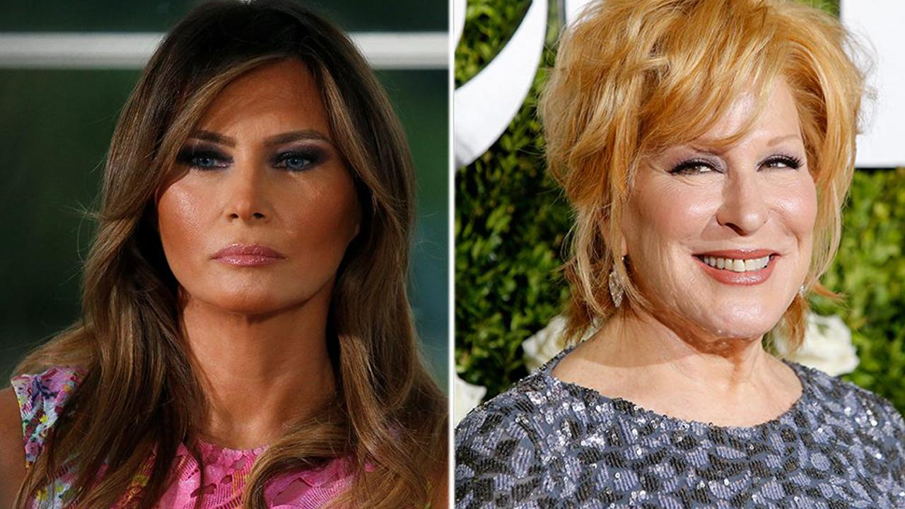 Bette Midler under fire for slamming Melania Trump modeling photo