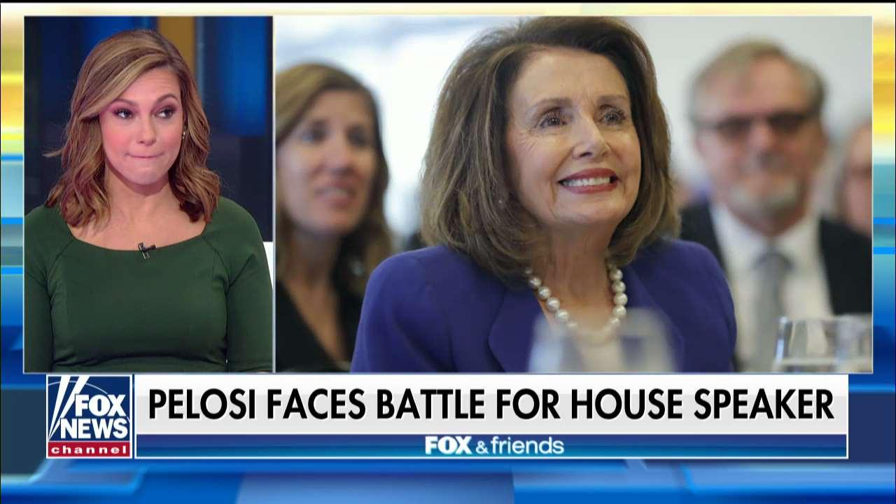 Boothe: Pelosi Will Face a 'Big Challenge' With Progressive Dems in House Speaker Bid