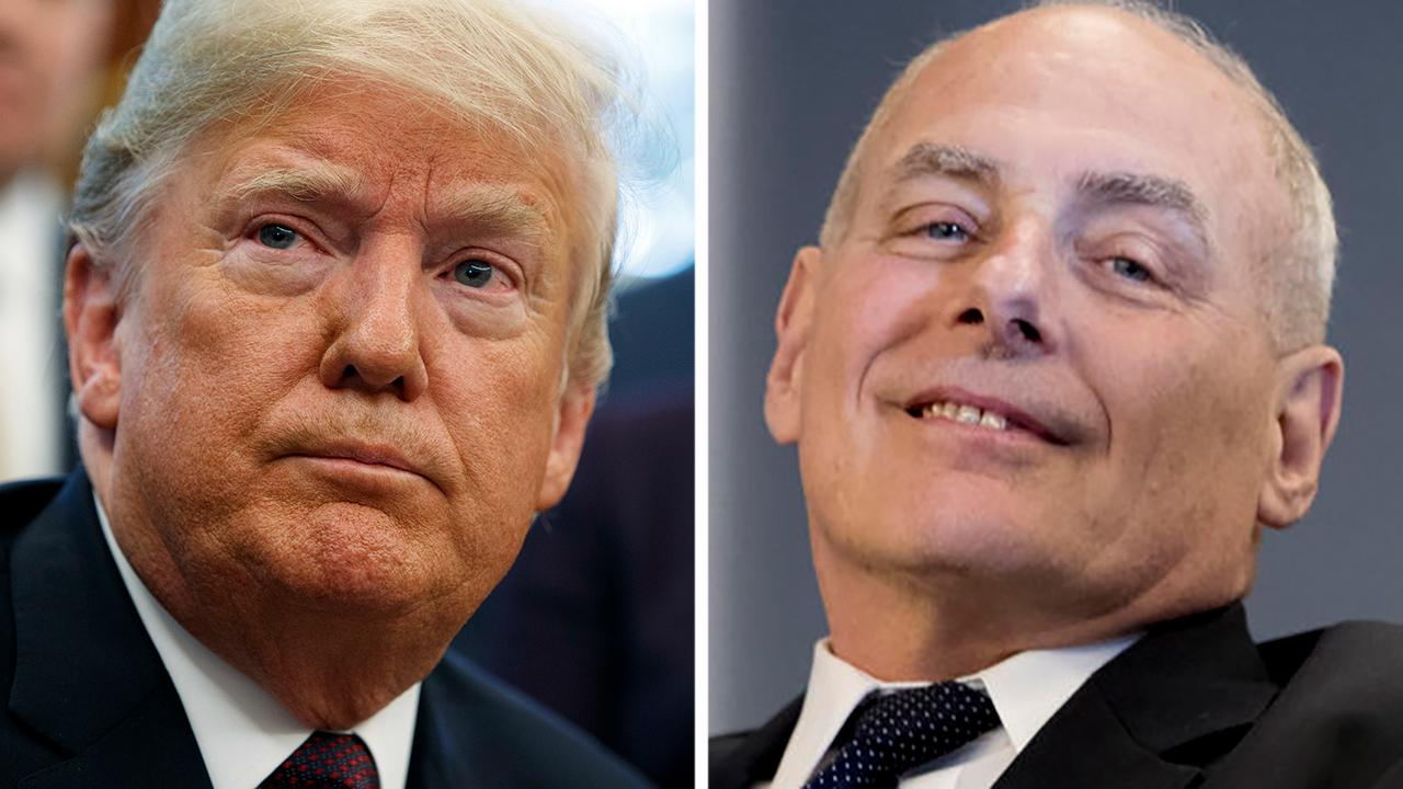 Trump confirms John Kelly will eventually 'move on'