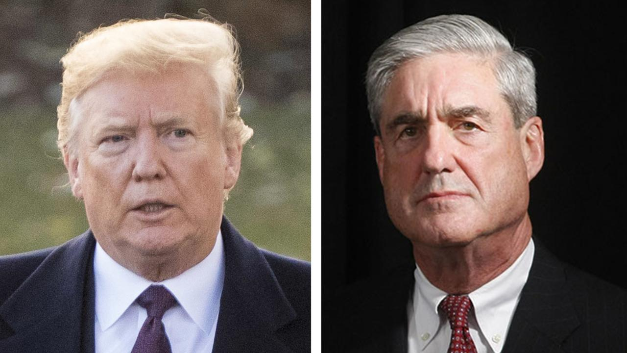 Trump submits written answers to Mueller questions