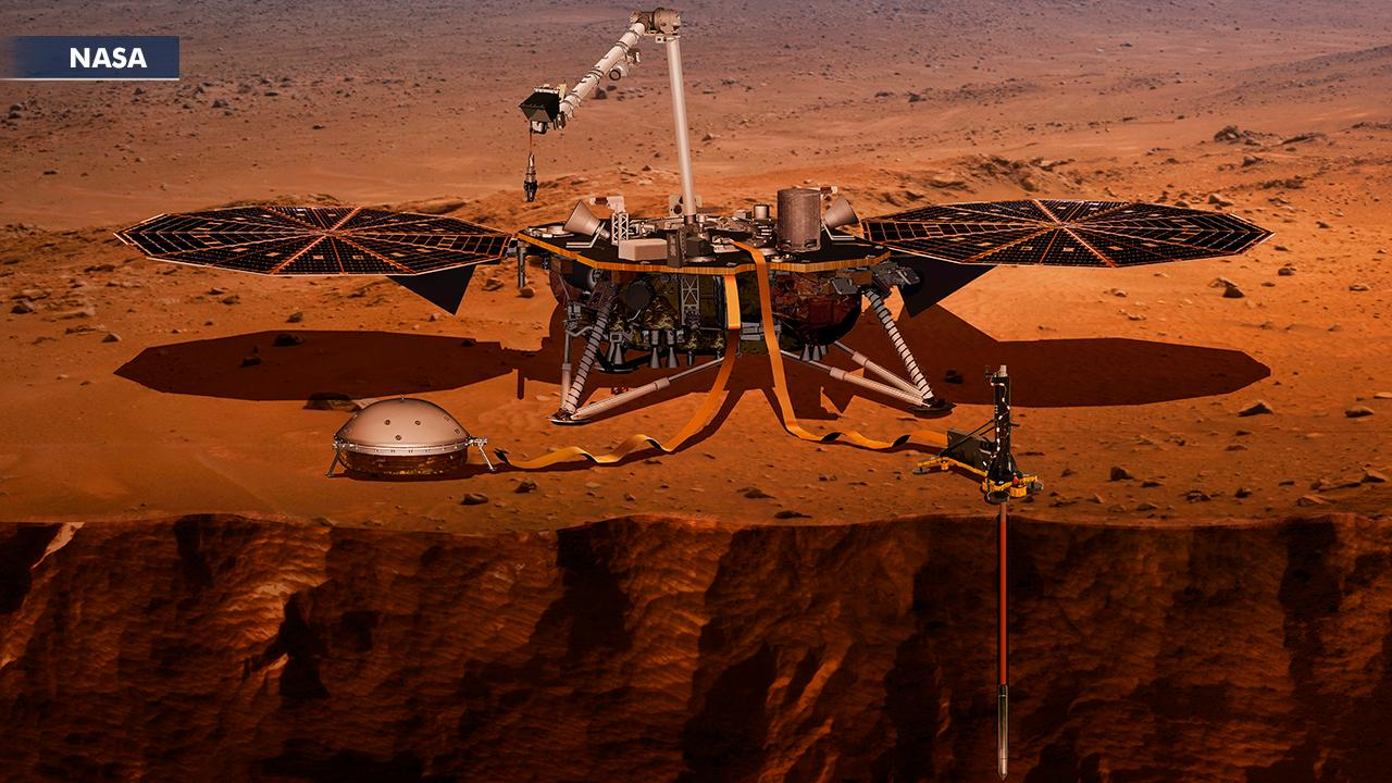 InSight mission to probe interior of Mars
