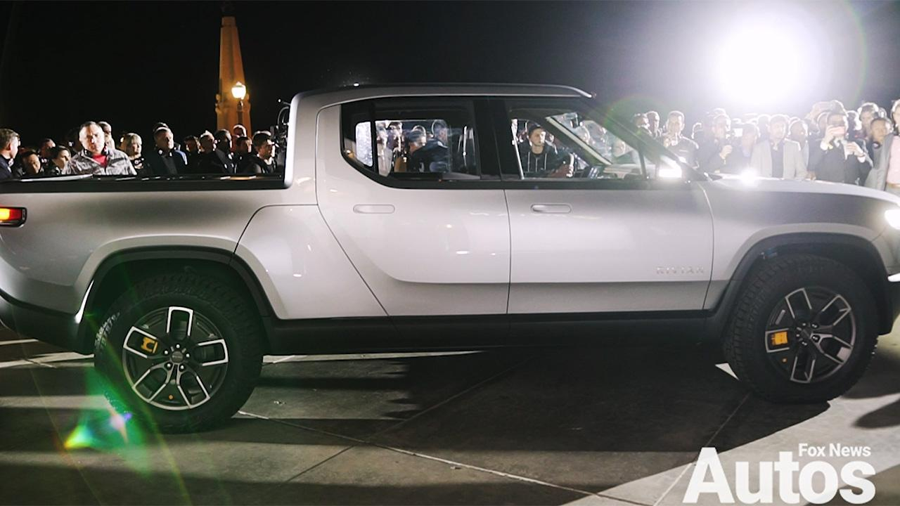 The Rivian R1T is the electric pickup of the near future