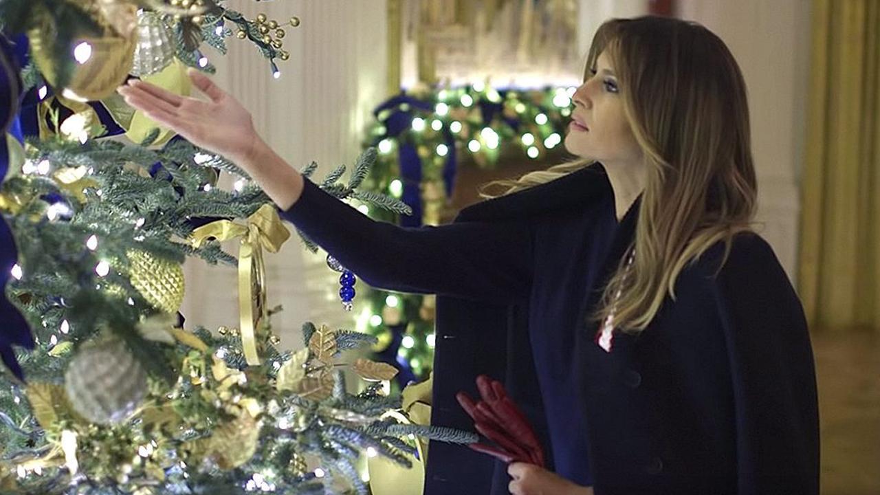 Hateful critics bash Melania Trump over White House holiday décor